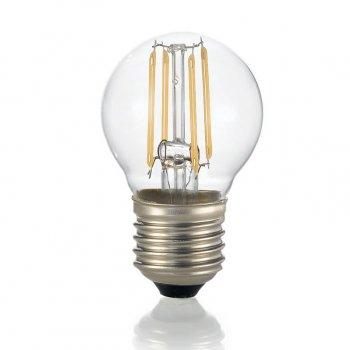 Світлодіодна лампа Ideal Lux Classic E27 4W Sfera Trasp 3000K Dimmer (188942)