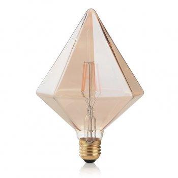 Світлодіодна лампа Ideal Lux Vintage E27 4W Pyramid 2200K (201276)