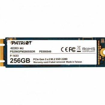 Накопичувач SSD M. 2 2280 256GB Patriot (PS256GPM280SSDR)