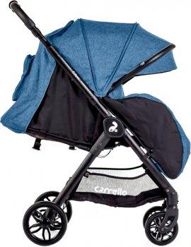 Прогулянкова коляска Carrello Eclipse CRL-12001 Deep Blue Льон + дощовик (150955)