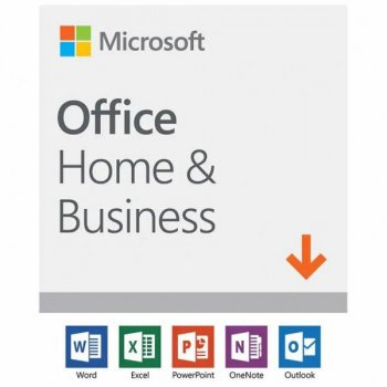 Офісне додаток Microsoft Office 2019 Home and Business English Medialess (T5D-03245)