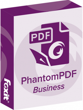Офисное приложение Foxit PhantomPDF Business (1ПК), v9.x Commercial, подписка на 1 год (PHABSUTDECGAALLYS-1-4)