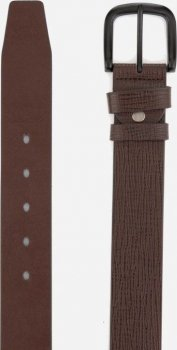 Мужской ремень кожаный Colmen R01-A76B 130 см Коричневый