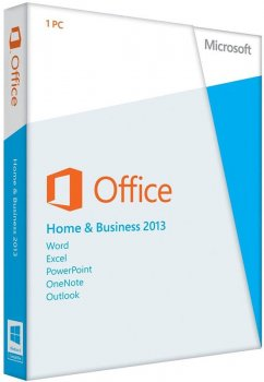 Офісне додаток Microsoft Office Home and Business 2013 (32/64-bit Russian) BOX DVD (T5D-01761)