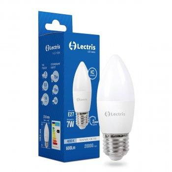 Лампа LED Lectris С37 7W 4000K 220V E27 (1-LC-1304)