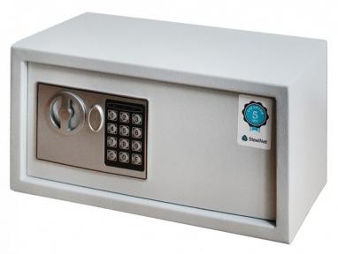 Сейф мебельный SteelNet SN-МС-18Е-7035 (me-28687)