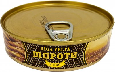 Шпроты Riga Zelta 160 г (4751029746009)