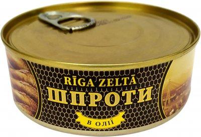 Шпроты Riga Zelta 240 г (4751029746016)