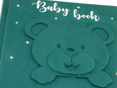 Іменний альбом для новонародженого хлопчика Bear, ручна робота KALLA