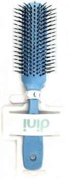 Щетка для волос Dini FC-014 массажная прямоугольная голубая (4823098411000)