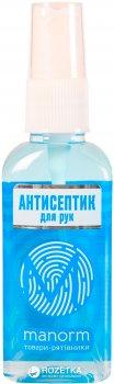 Упаковка антисептика для рук Manorm Aquamarine 2 шт. х 50 мл (ROZ6206101499)