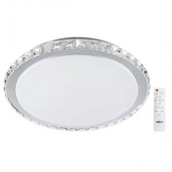 Світильник світлодіодний V-WATT Крісті 75W R пульт ДУ (Настінно-стельовий, Люстра LED)