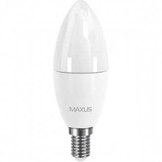 Лампа світлодіодна Maxus CL-F 6 Вт C37 E14 220 В 3000 K 1-LED-533-02 (NL30529486)