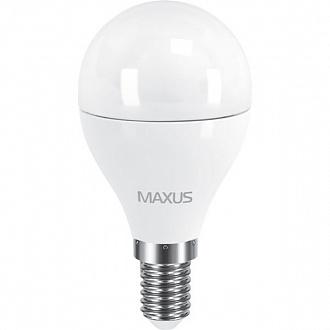 Лампа Maxus LED G45 F 6 Вт E14 4100 K холодне світло (NL30514869)