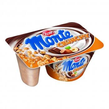 Десерт Zott Монте кранч с шоколадом и орехами, 125 г