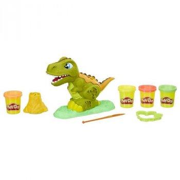 Игровой набор пластилин, тесто для лепки MK 2325 Play-Doh, Динозавр 21 см
