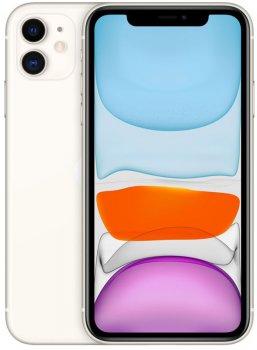 Мобильный телефон Apple iPhone 11 128GB White Slim Box (MHDJ3) (350864484024042) - Уценка