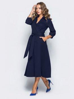 Платье Dressa 16476 Темно-синее