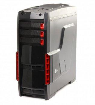 Корпус ProLogix A07C/7026 Black PSS-550W-12cm; 1*USB 3.0+2*USB 2.0, 3 hdd, 5 sata, 6 pin і 8pin роз'єми
