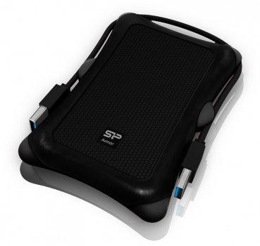 Жесткий диск Silicon Power Armor A30 2TB SP020TBPHDA30S3A 2.5 USB 3.2 External Black