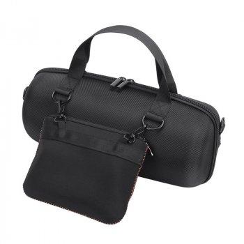 Чехол сумка Lesko для портативной колонки JBL 310х155 мм Black (3325-9104а)