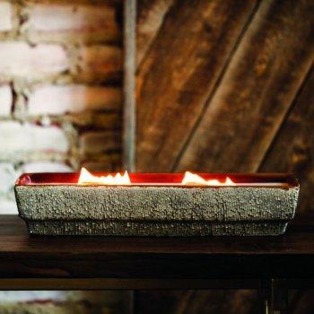 Ароматическая свеча Woodwick Fireplace Medium Коричневый (12923E)