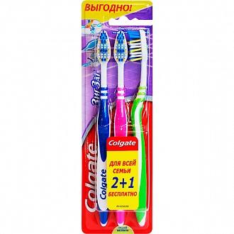 Щетка зубная Colgate Zig zag Plus 3 шт (NL51302440)