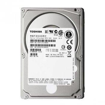 HDD Toshiba 300GB 10000RPM 16MB BUFFER SAS 6GBPS 2.5INCH HARD DISK DRIVE (MBF2300RC) Refurbished