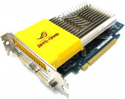 Відеокарта Asus ASUS GEFORCE 8600 GTS 512MB 128-BIT PCI EXPRESS GRAPHICS CARD (EN8600GT) Refurbished