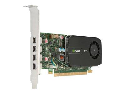 Видеокарта HP HP Grafikkarte Quadro NVS 510 2GB 4x mini DP PCI-E - (721795-001) Refurbished