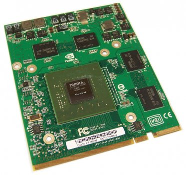 Видеокарта HP HP FX1600 256MB MEZZANINE CARD (441884-003) Refurbished