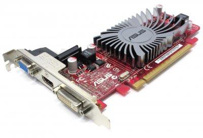 Видеокарта Asus ASUS RADEON HD5450 1GB DDR3 PCIE GRAPHICS CARD (EAH5450-SILENT) Refurbished