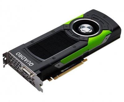 Відеокарта HP HP Grafikkarte Quadro P6000 24GB 4x DP 1x DVI PCI-E - (913197-001) Refurbished