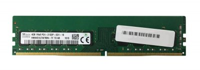 Оперативная память Hynix HYNIX 4GB (1X4GB) 1RX8 PC4-17000P-E DDR4-2133MHZ ECC DIMM (HMA451U7AFR8N-TF) Refurbished