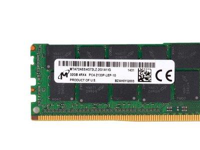 Оперативная память Micron MICRON 32GB (1X32GB) 4RX4 PC4-17000P DDR4-2133MHZ MEMORY KIT (MTA72ASS4G72LZ-2G1A) Refurbished