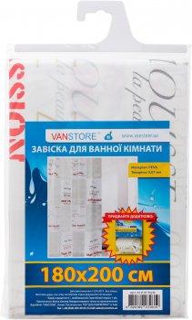 Завіска для ванни VANSTORE Style 61010 180х200