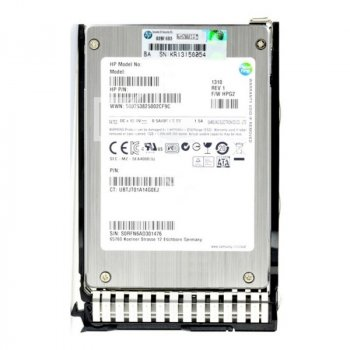 "SSD HP HP HDD 200GB 6G 2.5"" MLC EM SSD (632502-B21) Refurbished"