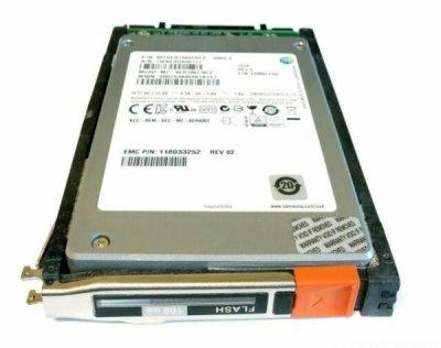 SSD EMC EMC VNX 100GB 6G 2.5 INCH SAS SSD (5049263) Refurbished