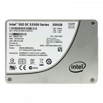 SSD Intel INTEL 300GB DC S3500 SERIES SATA SSD (SSDSC2BB300G4) Refurbished
