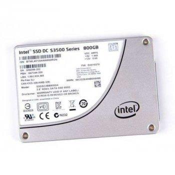 SSD Intel INTEL S3500 800GB 6G 2.5 INCH SATA SSD (SSDSC2BB800G4) Refurbished