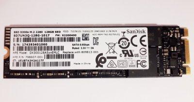 SSD HP HPE 3Par 128GB SATA node boot drive SSD M. 2 SDX300 (798607-001) Refurbished