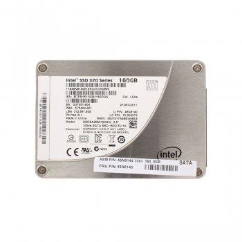 SSD IBM IBM INTEL 320 SERIES 160GB 3G 2.5 INCH SATA SSD (45N8144) Refurbished