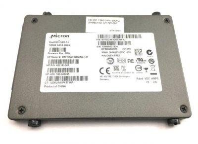 SSD Micron HPI SSD C400 128GB 2.5 MLC SATA 6. (652181-002) Refurbished