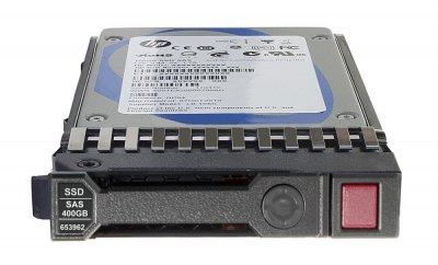 SSD HP HP 400GB 6G SAS SLC 2.5 INCH SSD (653082-B21) Refurbished