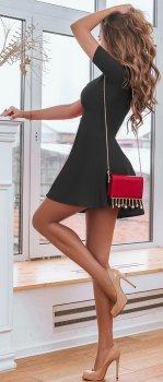 Плаття Gepur 30247 Чорне