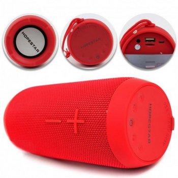 Портативна акустична Bluetooth колонка з вологозахистом Hopestar P7 Червона Original (HBP7R)