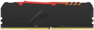 Оперативная память HyperX DDR4-2666 16384MB PC4-21300 Fury RGB Black (HX426C16FB3A/16)