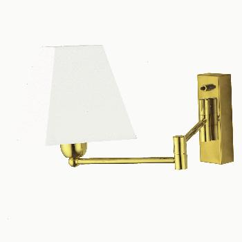 Настінний світильник Amplex 601 Rotto Gold