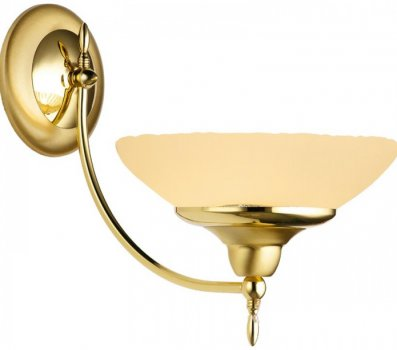 Настінний світильник Amplex 320 Onyx Opal Gold