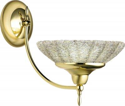Настінний світильник Amplex 302 Onyx Krysztal Gold